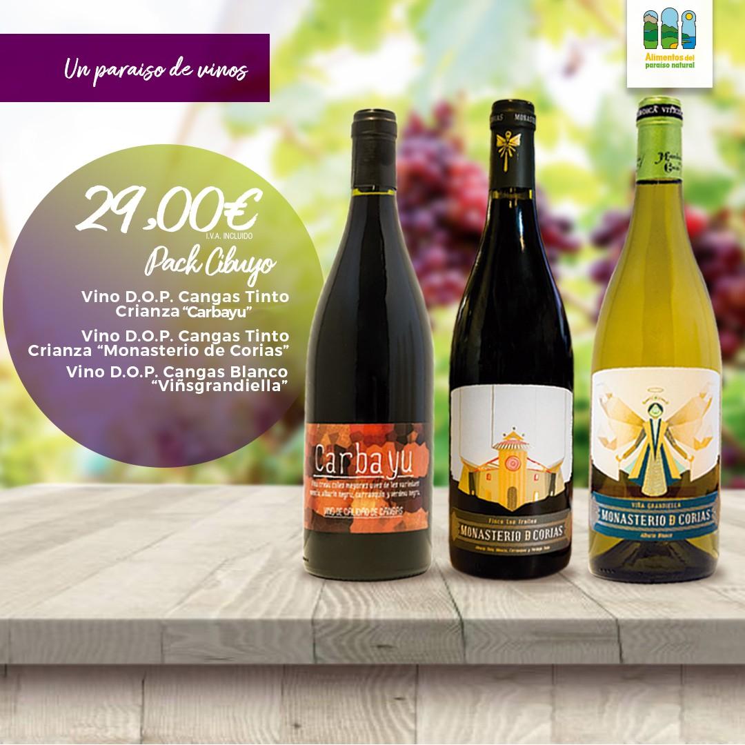 Pack de vino DOP Cangas