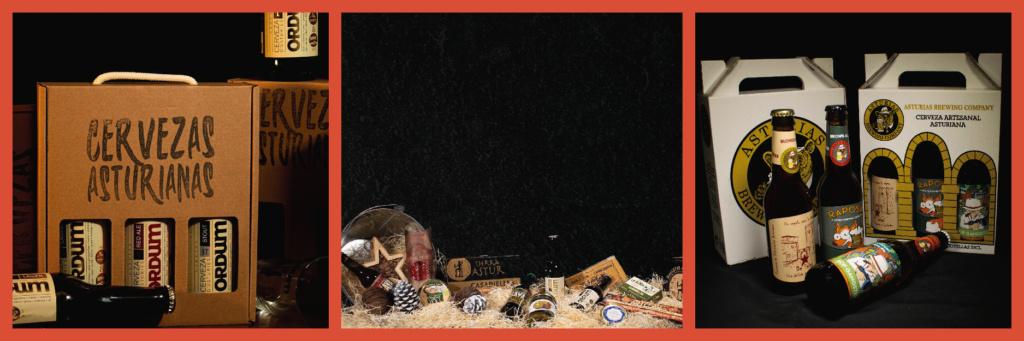 mosaico de regalos para los amantes de la cerveza
