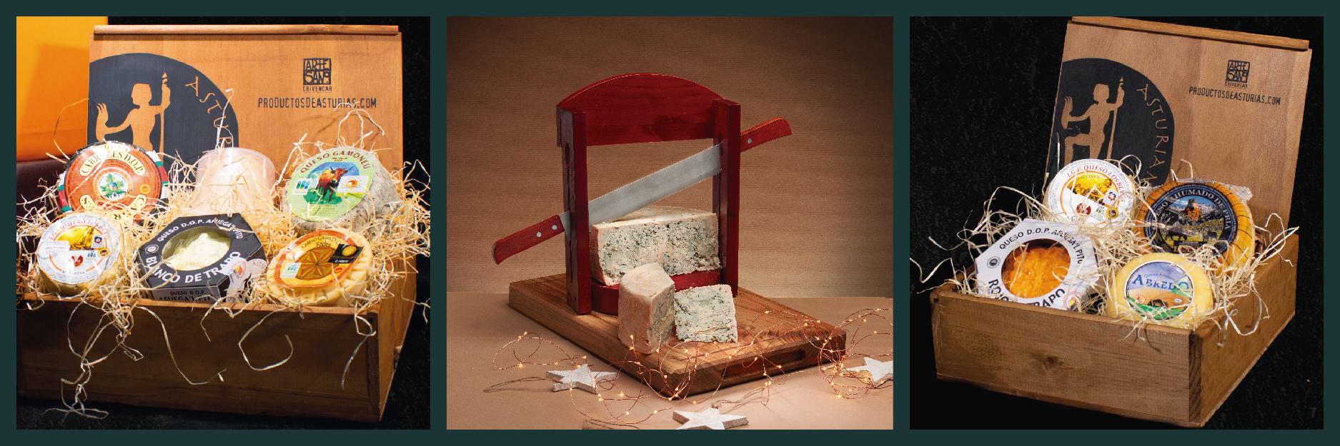 Mosaico regalo para los amantes del queso