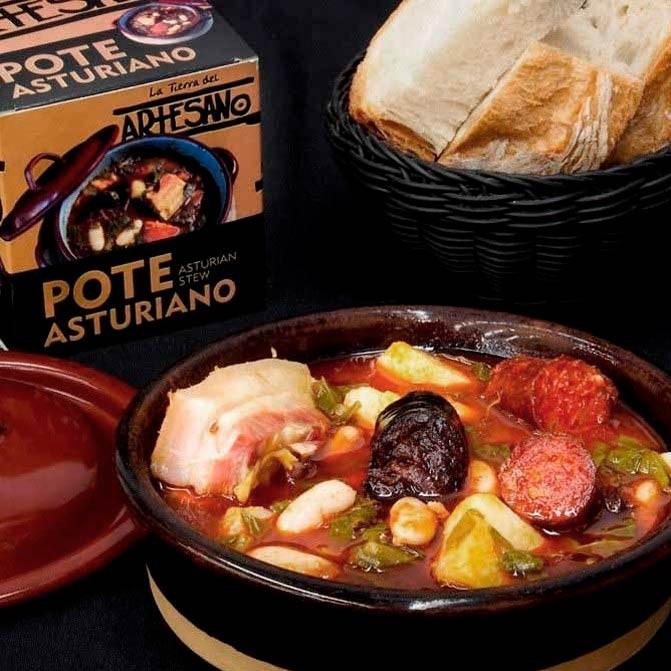 pote asturiano con berza