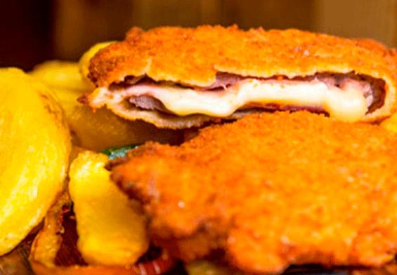 Cachopo asturiano sin gluten