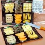 Bandeja de quesos asturianos para 4 personas
